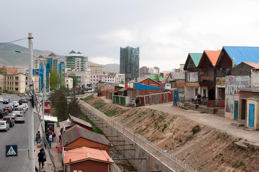 モンゴル現地
