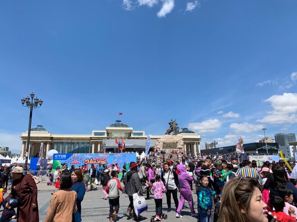 チンギスハン広場