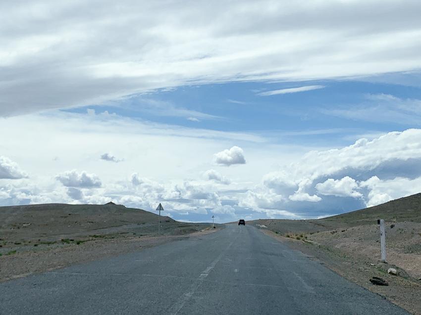 モンゴル 空