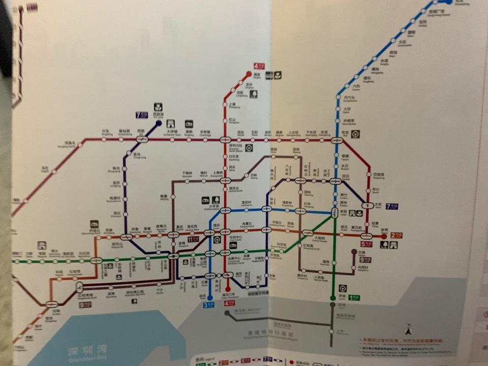 電車のMAP